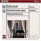 Schubert: The Complete Impromptus, etc / Alfred Brendel