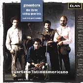 Ginastera: The 3 String Quartets / Cuarteto Latinoamericano