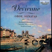 Francois Devienne (1759-1803): Sonatas for oboe, harpsichord and cello / Burkhard Glaetzner; Christine Schornsheim; Siegfried Pank