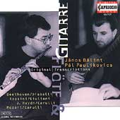 Flute & Guitar Transcriptions / Balint, Paulikovics