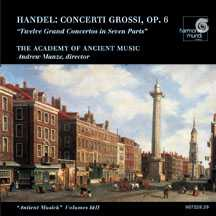 Handel: Concerti Grossi / Manze, Academy of Ancient Music
