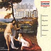 Sacred Cantatas / Klepper, Borst, Bamberger String Quartet