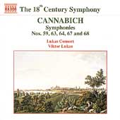 The 18th Century Symphony - Cannabich / Lukas, Lukas Consort