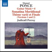 Ponce: Guitar Music, Vol. 4