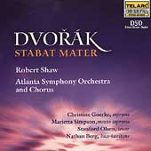 Dvor&aacute;k: Stabat Mater / Shaw, Goerke, Simpson, Olsen, et al