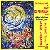 The Orchestral Music of Meyer Kupferman Vol 12 / Freeman