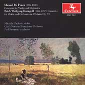 Ponce, Korngold: Violin Concertos / Cuckson, Freeman, et al