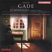 Gade: Symphonies Vol 3 - no 3 & 6, etc / Hogwood