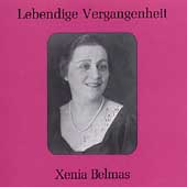Lebendige Vergangenheit - Xenia Belmas
