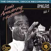 Louis Armstrong: Louis Armstrong & His Orchestra, Vol. 2 (1936-1938): Heart Full of Rhythm
