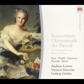Baroque Music for Oboe / Lorenz, Virtuosi Saxonae