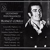 Legendary Performances of Franco Corelli - 7 Operas