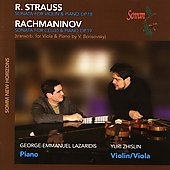 Music of Strauss and Rachmaninov / Lazaridis, Zhislin, et al