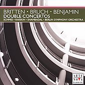 Britten, Bruch, Benjamin: Double Concertos / Schmid, Berlin