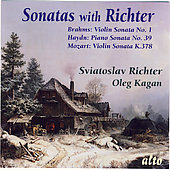 Sonatas with Richter - Mozart, Haydn, Brahms