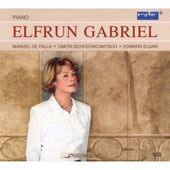 Falla, Elgar, Shostakovich / Elfrun Gabriel