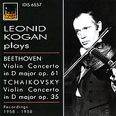Beethoven, Tchaikovsky: Violin Concertos / Kogan, Kempe, Nebolsin, et al