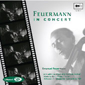 Feuermann in Concert - Bach, Faur&eacute;, Saint-Sa&euml;ns, Popper / Smallens, New York PO, et al