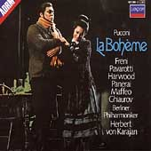 Puccini: La Boh&#232;me / Karajan, Freni, Pavarotti, et al