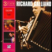 Richard Galliano: 3 Original Album Classics [Box]