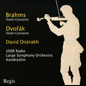 Brahms: Violin Concerto: Dvor&aacute;k: Violin Concerto