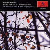 Martinu: Sonatas for Cello and Piano / Hanousek, Kaspar