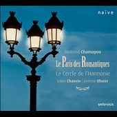 Le Paris des Romantiques: Reber: Symphony no 4; Berlioz: Reverie et Caprice; Liszt: Piano Concerto no 1 / Bertrand Chamayou, piano