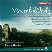 Vincent d'Indy: Orchestral Works, Vol. 5 / Louis Lortie, piano. Iceland SO, Gamba