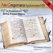 Ars Gregoriana - Supplementum VIIII