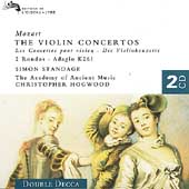 Mozart: The Violin Concertos, etc / Standage, Hogwood