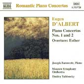Romantic Piano Concertos - D'Albert / Banowetz, Yablonsky