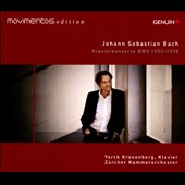 Bach: Keyboard Concertos BWV 1052-1058 / Yorck Kronenberg, piano; Zurich Chamber Orch.