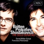 Britten, Prokofiev, Shostakovich: The Cello Sonatas