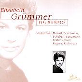 Elizabeth Grümmer - Berlin and Munich Concerts