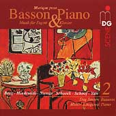 SCENE  Musique pour basson & piano Vol 2 / Jensen, Kitagawa