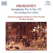 Prokofiev: Symphony no 4, The Prodigal Son / Kuchar