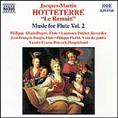 Hotteterre: Music for Flute Vol 2 / Allain-Dupré, et al