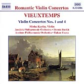 Romantic Violin Concertos - Vieutemps: Concertos no 1 and 4