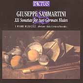 G. Sammartini: XII Sonatas for two German Flutes