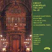 Great European Organs Vol 65 - Langlais, etc / C. Matthews