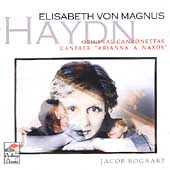 Haydn: Original Canzonettas, etc / Von Magnus, Bogaart