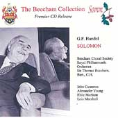 Beecham Collection - Handel: Solomon / Cameron, Young, et al