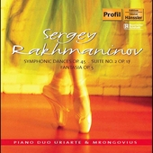 Rachmaninov: Symphonic Dances / Uriarte & Mrongovius