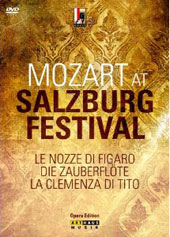 Mozart at Salzburg Festival - 3 complete operas: Marriage of Figaro; Magic Flute & Clemenza di Tito [6 DVD]