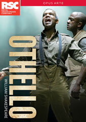 William Shakespeare: Othello - Recorded Live at the Royal Shakespeare Company, 2015 / David Ajao, Nadia Albina, Scarlett Brookes, James Corrigan, Ayesha Dharker, Eva Feiler [DVD]