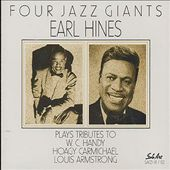Earl Hines: Four Jazz Giants