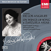 On Wings of Songs & Zarzuela Arias / Victoria de los Angeles