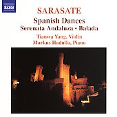 Sarasate: Spanish Dances, etc / Yang, Hadulla