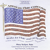 American Flute Concertos / Mary Stolper, Paul Freeman, et al