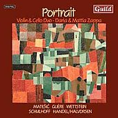 Portrait - Music for Violin & Cello / Daria & Mattia Zappa